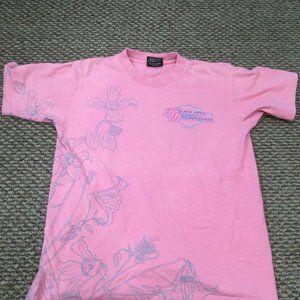 Harley Davidson Pink Napelon Ohio Shirt Small